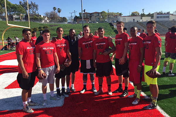 Armed and Dangerous QB finalists at LA Regional Nike Elite 11