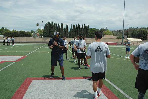 Armed and Dangerous Football Camp LA