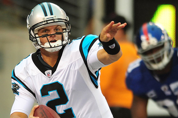 Jimmy Clausen - Carolina Panthers