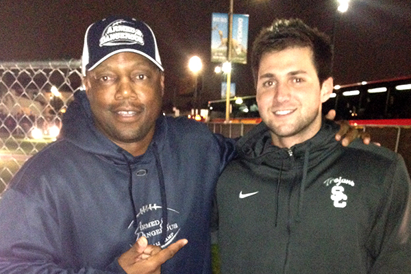 Steve Calhoun and Cody Kessler (USC)